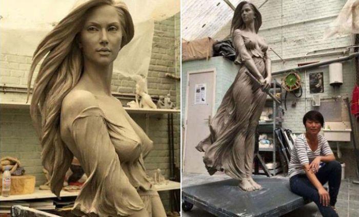 Гиперреалистичные скульптуры в стиле ню, от которых захватывает дыхание