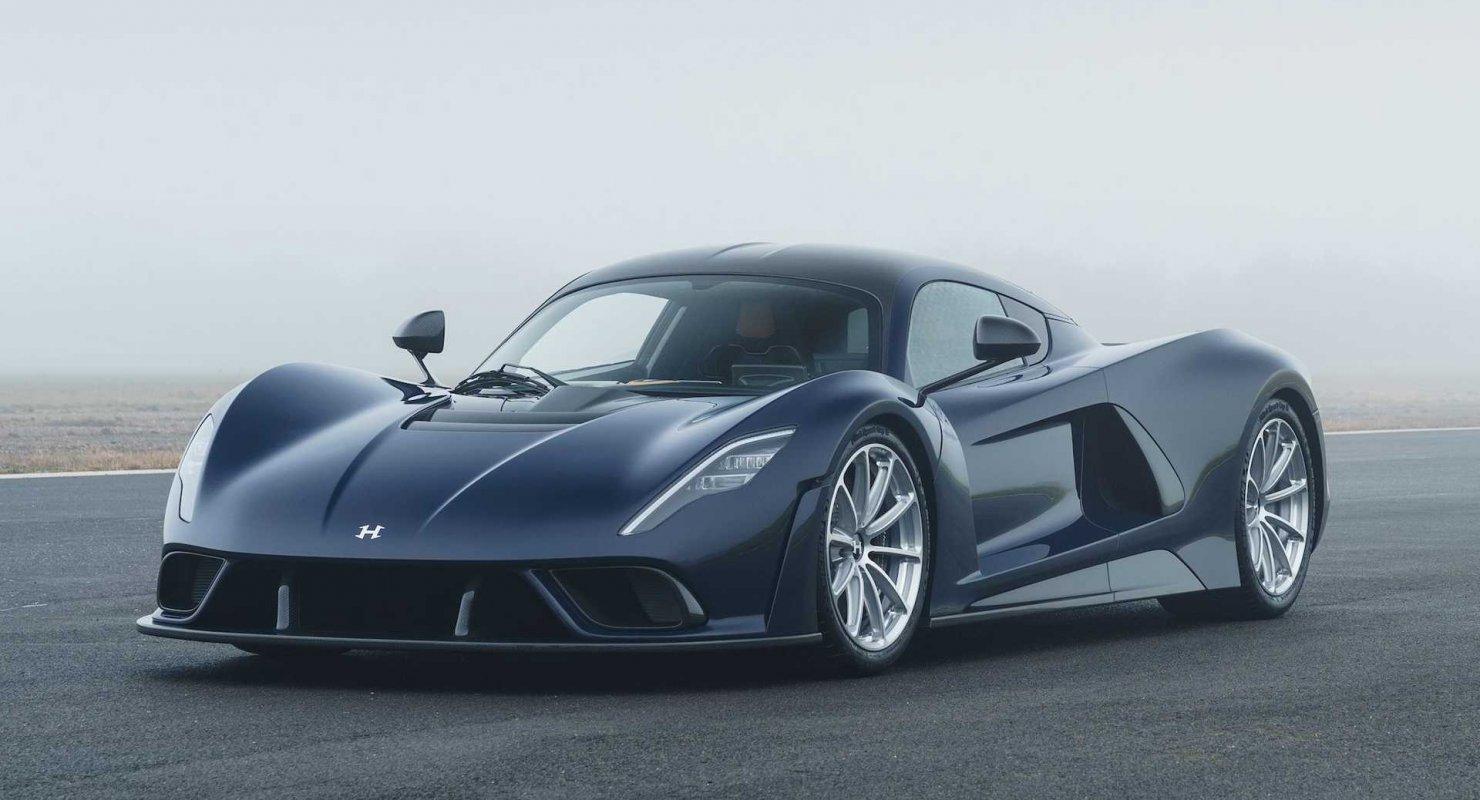 Hennessey рассматривает возможность выпуска Venom F5 GTR с высокой прижимной силой Автомобили