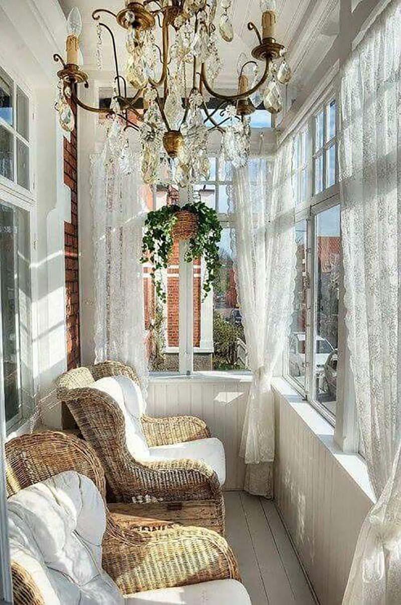 стильные идеи дизайна балконов и лоджий