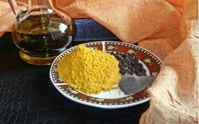Куркума и черный перец: ежедневная дозировка и противопоказания