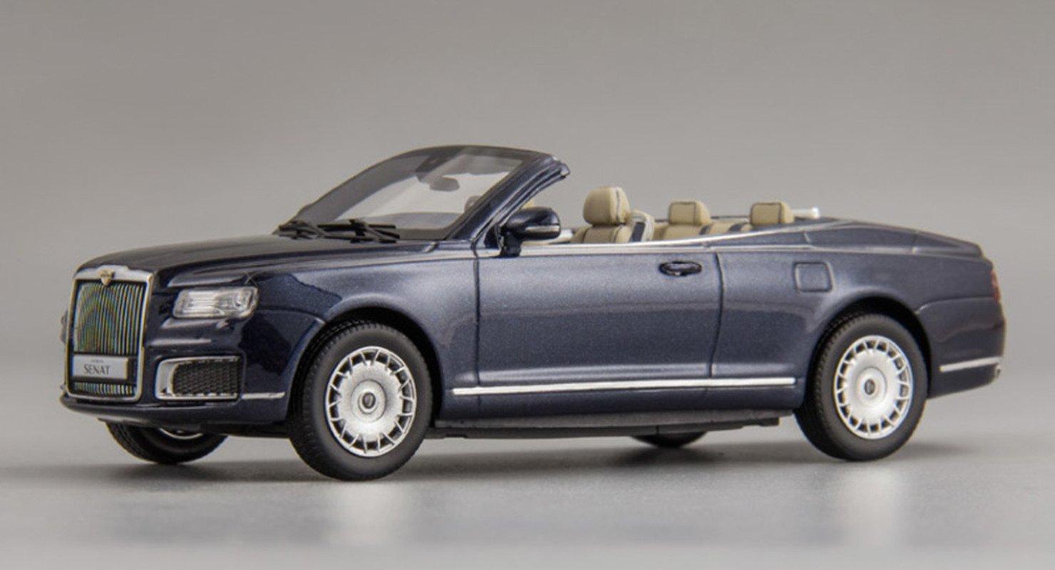 В России вышла в продажу уменьшенная копия кабриолета Aurus Senat за 10 000 руб Автомобили