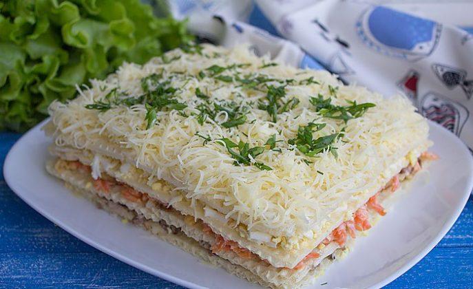 Закусочный торт – 13 необычных рецептов - БУДЕТ ВКУСНО!