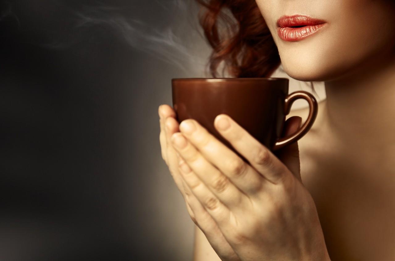 Пить кофе картинки