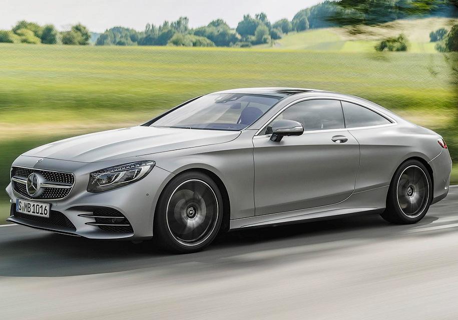 Купе и кабриолет Mercedes-Be…