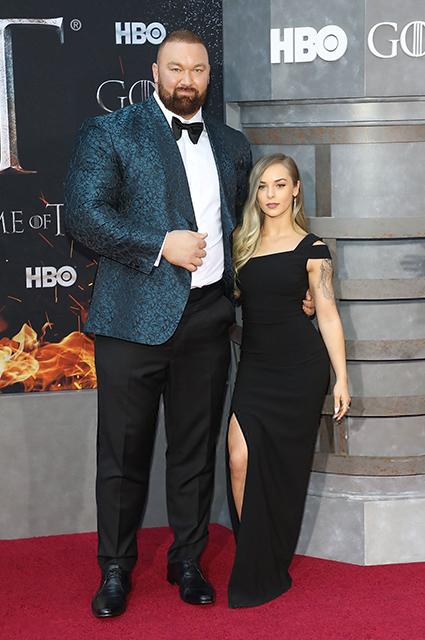 """Звезда сериала """"Игра престолов"""" Хафтор Бьернсон стал отцом во второй раз Звездные дети"""