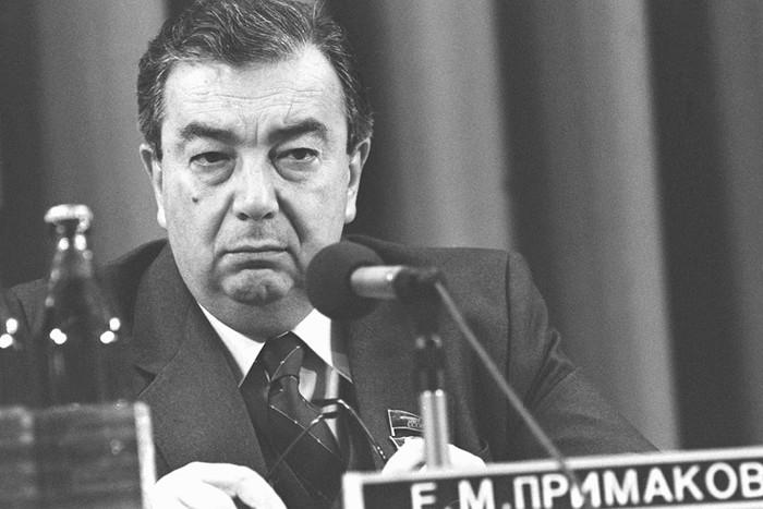 Роль Евгения Примакова в развале СССР