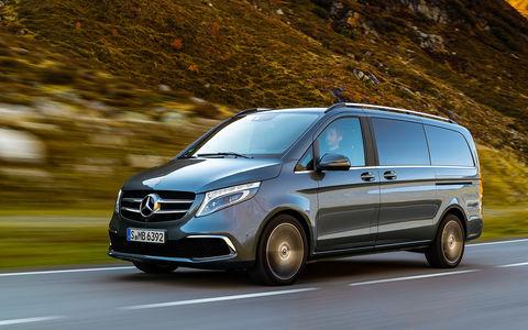 Mercedes-Benz V‑класса: изменения после рестайлинга