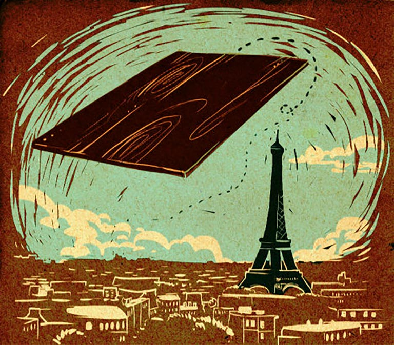 Фанера над Парижем