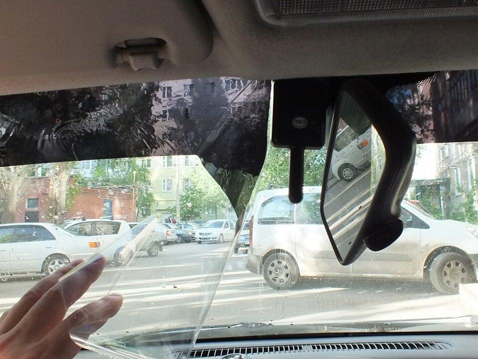 Штраф за полоску тонировки на лобовом стекле. Рассказываю, что нужно знать водителям