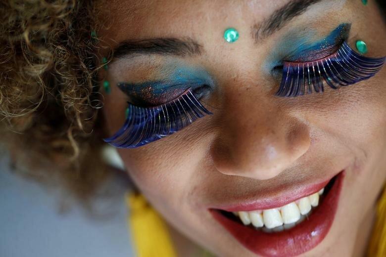 Одна из танцовщиц карнавала бразилия, в мире, карнавал, события, фото, фотоотчет, фоторепортаж