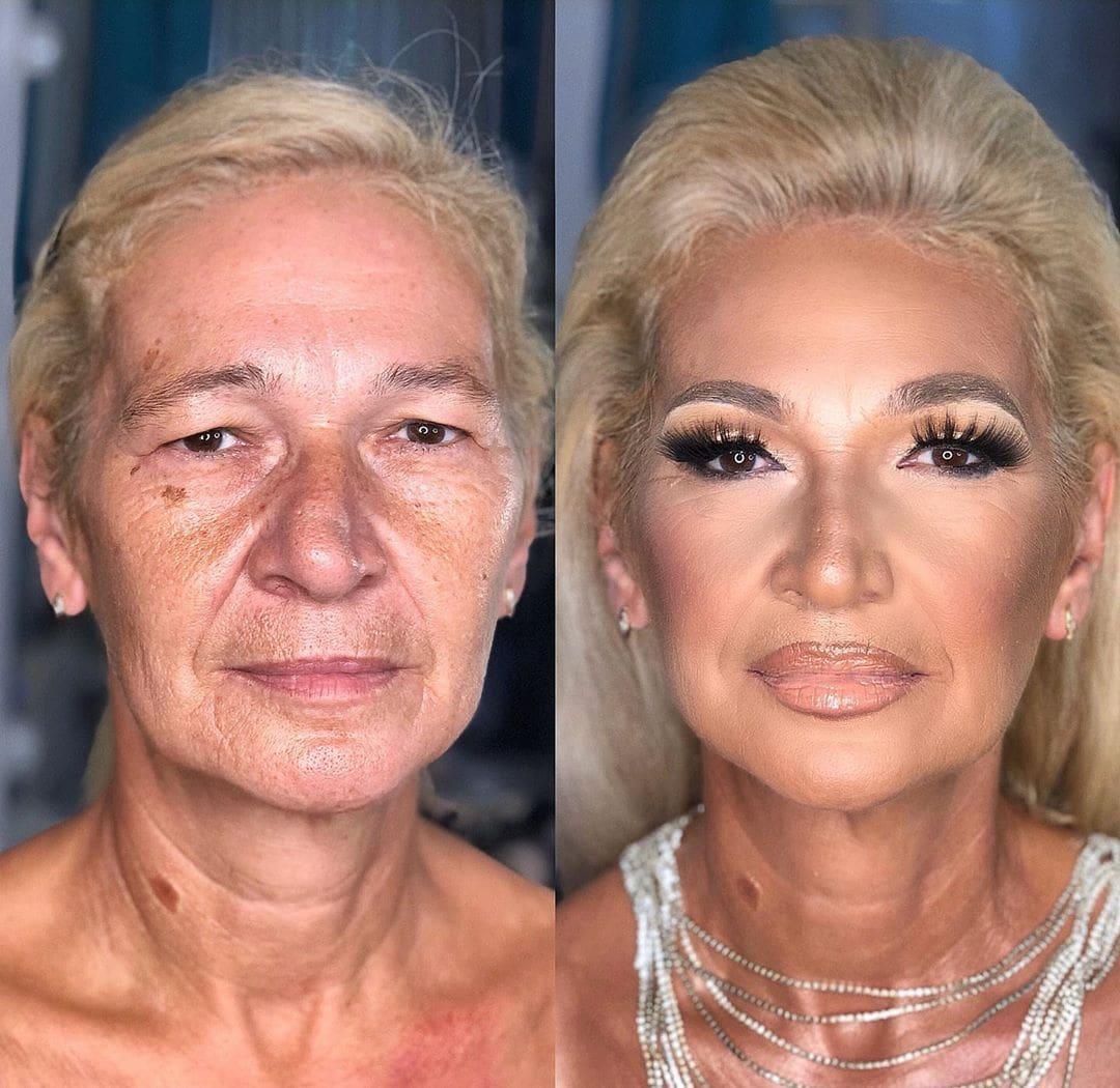 16 ярких работ от визажиста из Сербии, который доказывает, что шикарной может быть любая женщина визажист,красота,макияж