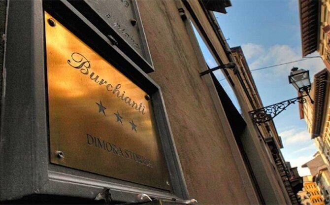 8. Отель Burchianti – Флоренция, Италия история, привидения, факты