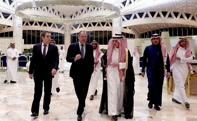Путин летит за нефтью к арабским шейхам