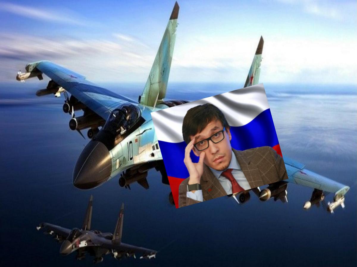 Для чего Россия осуществила жесткий перехват штурмовика США [неподалеку от военной базы Хмеймим] рассказал политолог Абзалов