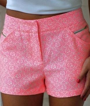 Шьем красивые летние шорты женские хобби