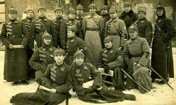 Чем была вооружена Красная Армия в первый год своего существования