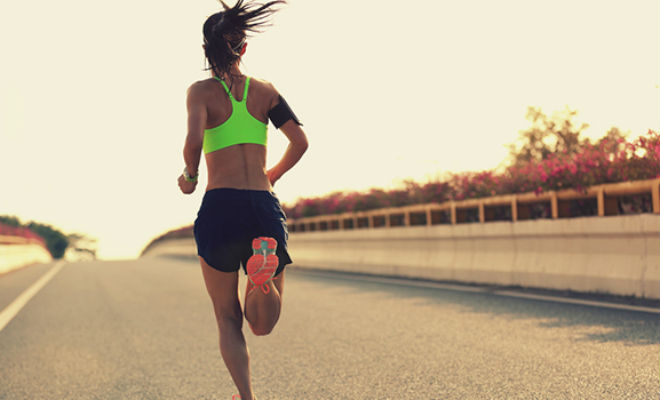Девушка бегала 3 месяца по 10 километров в день, а потом решила показать результат