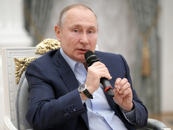 Владимир Владимирович, не испачкайтесь!