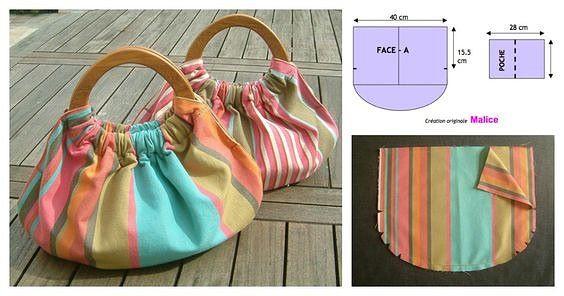 Шитье сумки: выкройки для сумок и клатчей