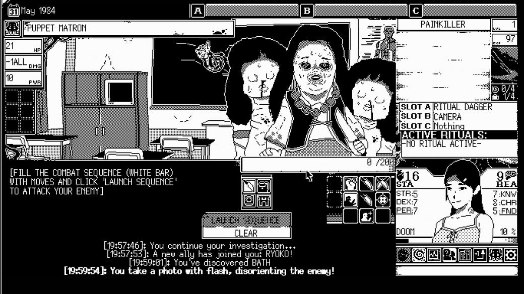 Безумие в крови: как World of Horror признается в любви Дзюндзи Ито и всем хоррорам мира horror,world of horror,Игры,обзоры,Хоррор