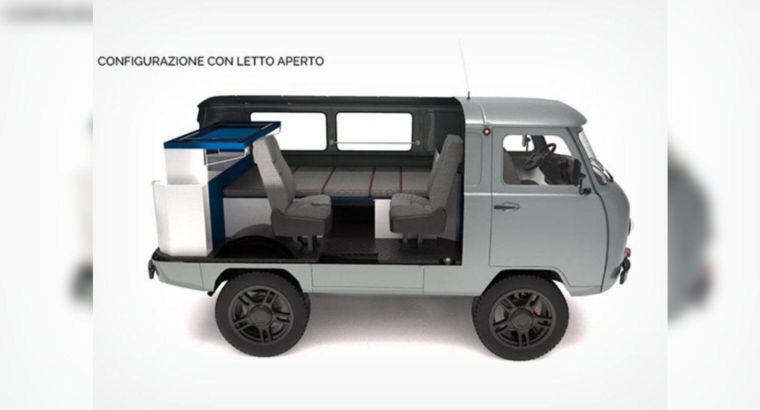 Интересные тюнинг-проекты над УАЗ-452 Автомобили
