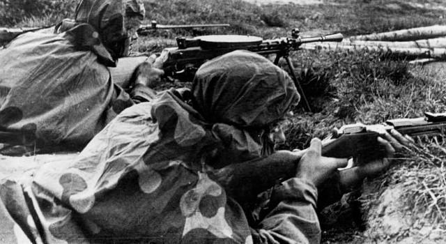 Подвиг советских разведчиков: рукопашная схватка в финской траншее