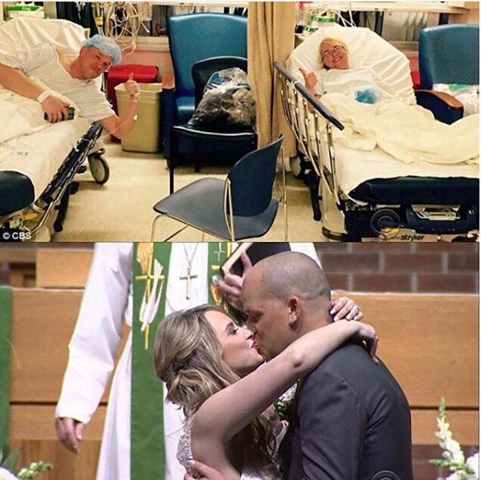 Он стал ее донором.