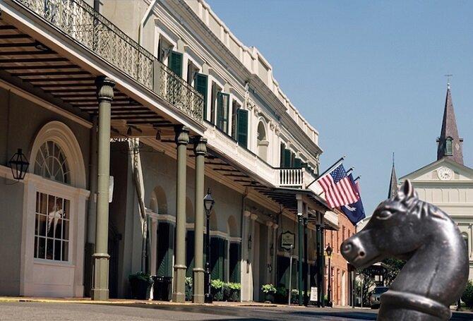9. Отель «Бурбон-Орлеанс» – Новый Орлеан, Луизиана история, привидения, факты