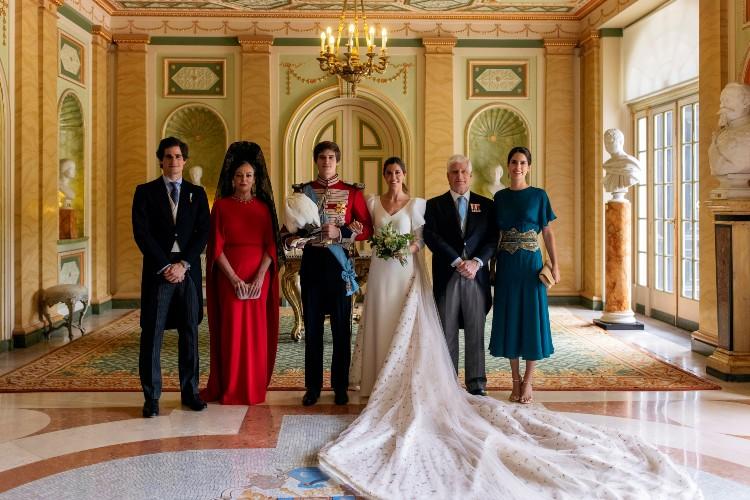 Еще один внук герцогини Альбы женился Монархи,Свадьбы монархов