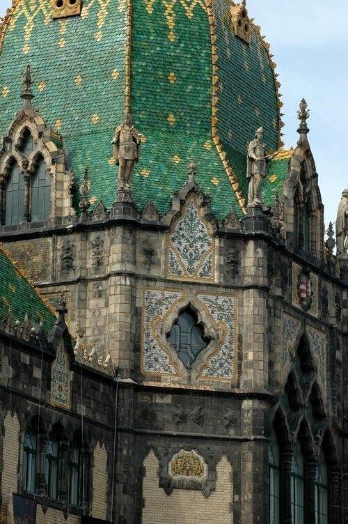 Будапешт. Музей прикладного искусства Материалы, Фабрика идей, интересное, красиво, крыши, необычное, стройка