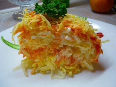 Лимонно-морковный салат
