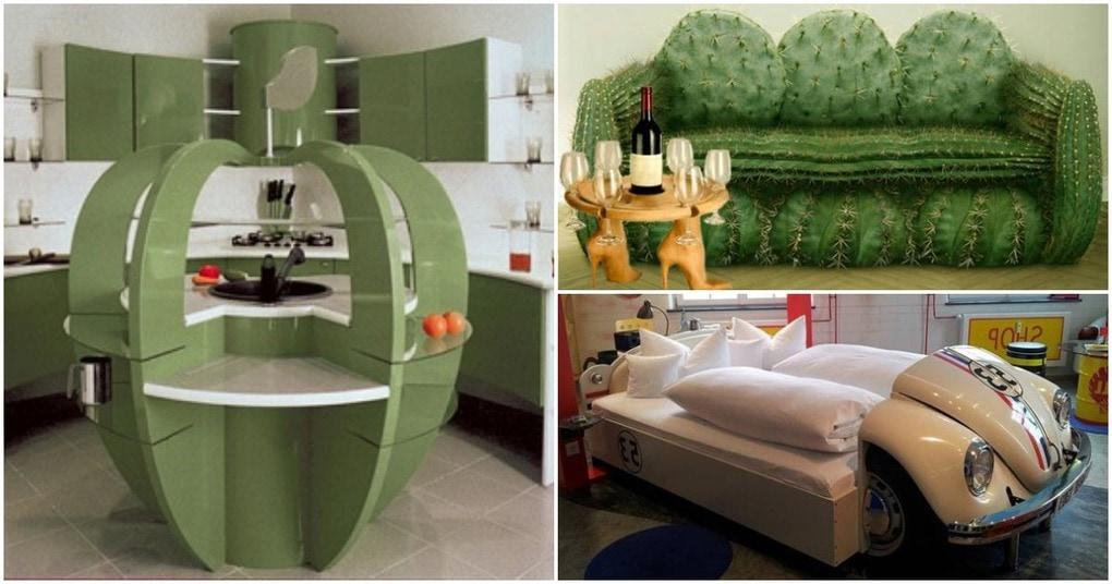 Необычная мебель — эффектное дополнение стильного интерьера
