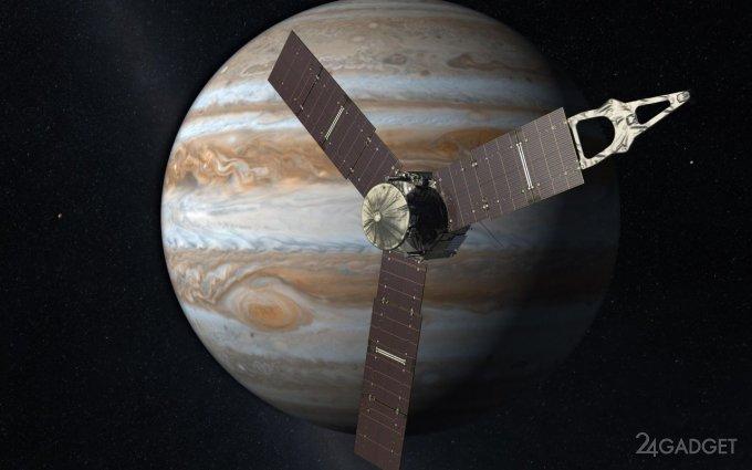 Представлены снимки NASA естественного спутника Юпитера Ганимеда