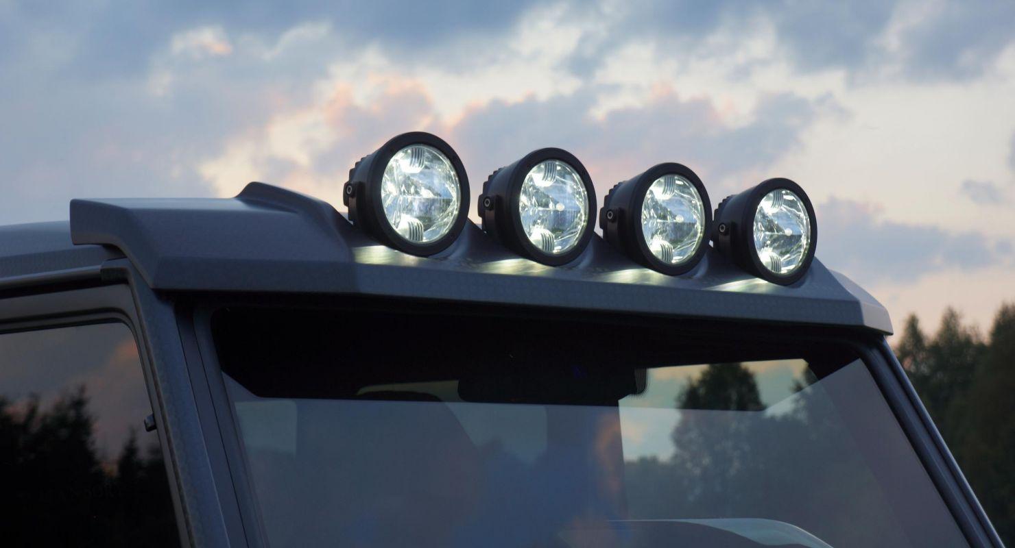 Установка дополнительного света на внедорожник Автомобили
