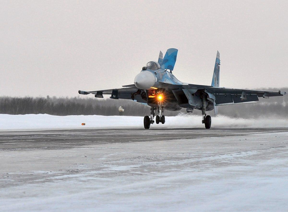 Российские самолеты авиагруппы «Адмирала Кузнецова» вернулись на базовый аэродром