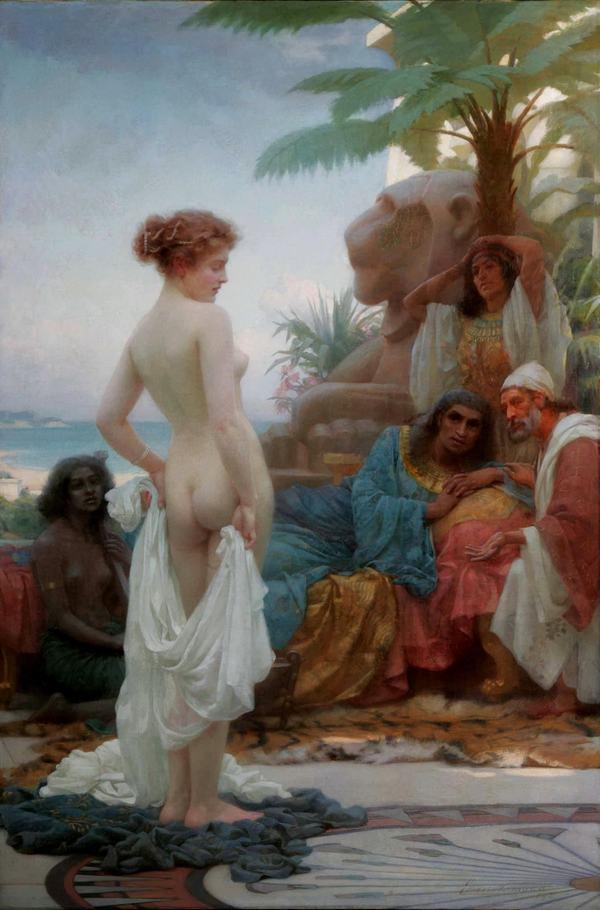 Торговля рабынями в искусстве женщина, рабыня, работорговля, искусство, живопись, картина, художник, длиннопост