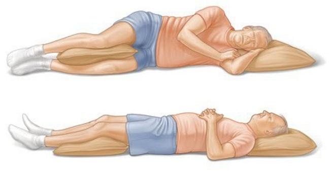 10 лучших поз для сна при разных видах боли