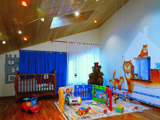 Личное пространство для ребенка: как оформить детскую комнату
