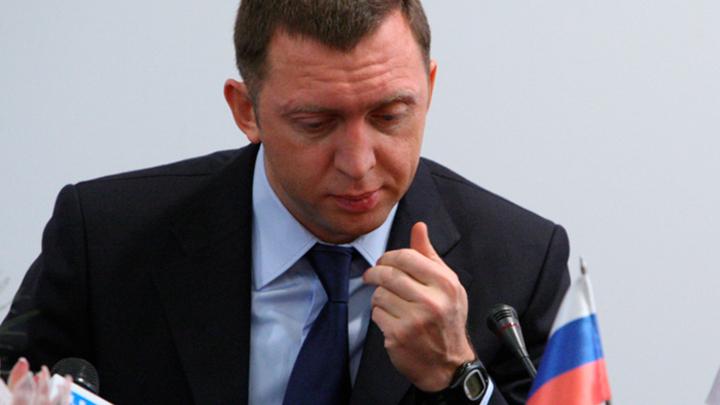 Россия помогает Дерипаске. А он ей – нет