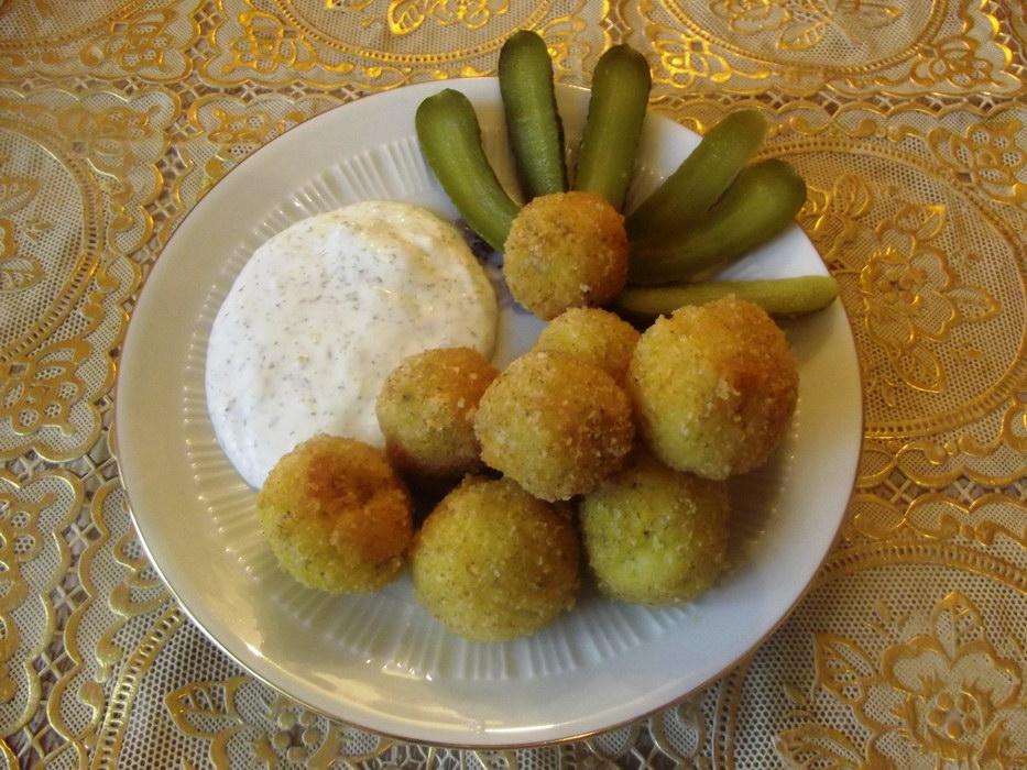 Картофельно-сырные шарики – …