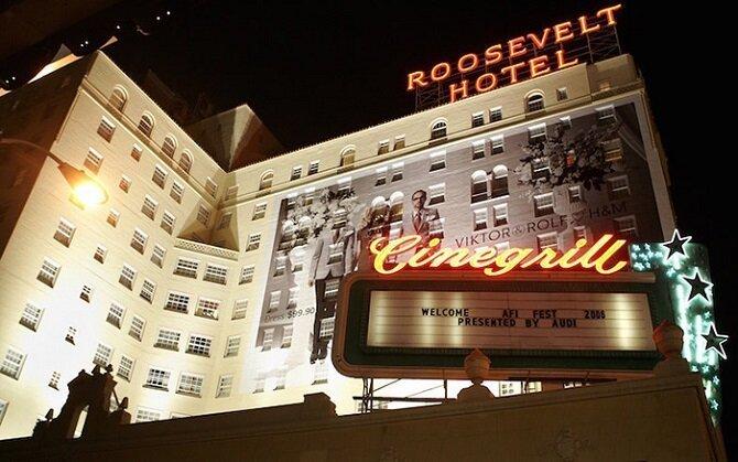 18. Отель «Голливуд-Рузвельт» – Лос-Анджелес, Калифорния история, привидения, факты