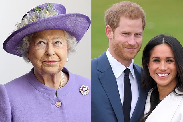 Королева Елизавета II запретила Меган Маркл и принцу Гарри использовать их королевский титул в коммерческих целях