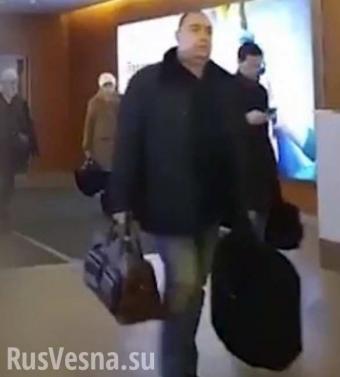 Плотницкого в Москве встретили только оперативники