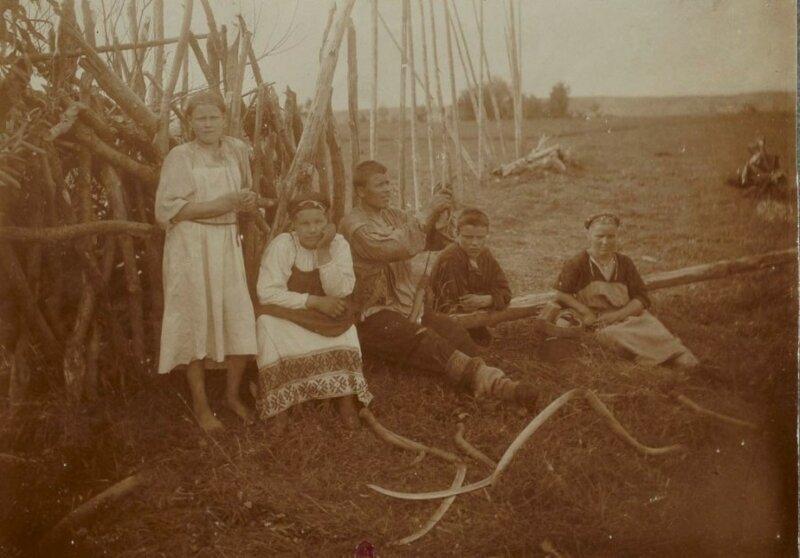 Косари на отдыхе Николай Шабунин, история, мезенский уезд, россия, русский север, фотографии