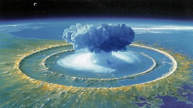 Если взорвать ядерную бомбу в супервулкане любопытное