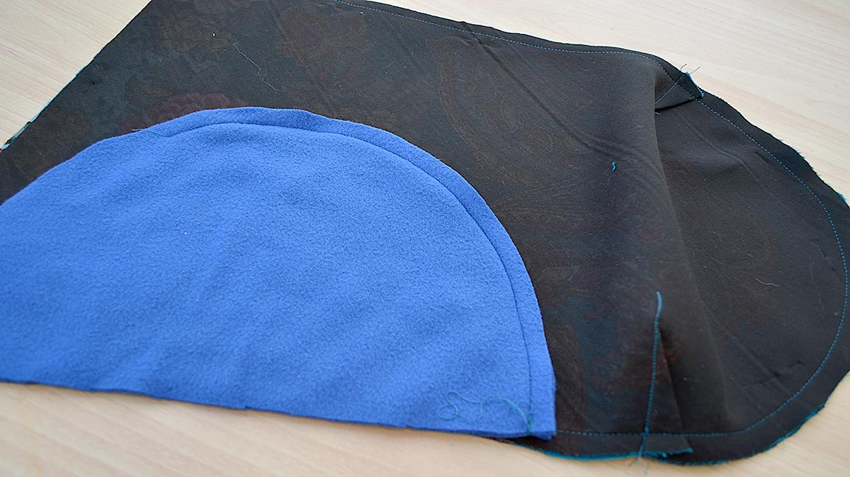 Шьем шапку и палантин из павловопосадского платка одежда,шитье
