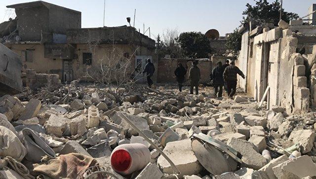 В Дамаске рассказали о найденных у боевиков запасах химоружия
