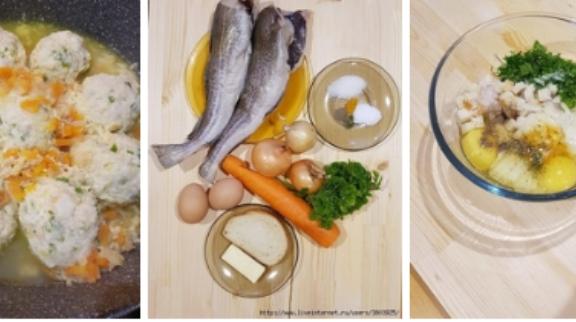 Сочные рыбные котлеты по-еврейски от моей свекрови