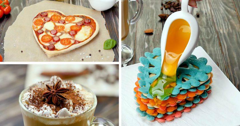 Романтический завтрак: три рецепта ко Дню влюбленных (и не только)