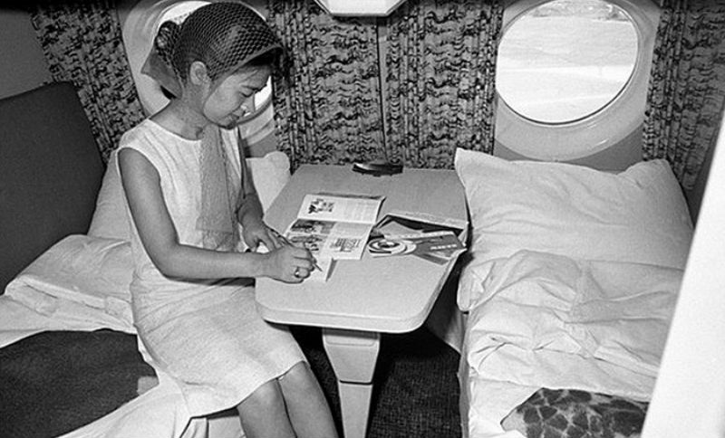 Как выглядел первый класс в советских самолетах